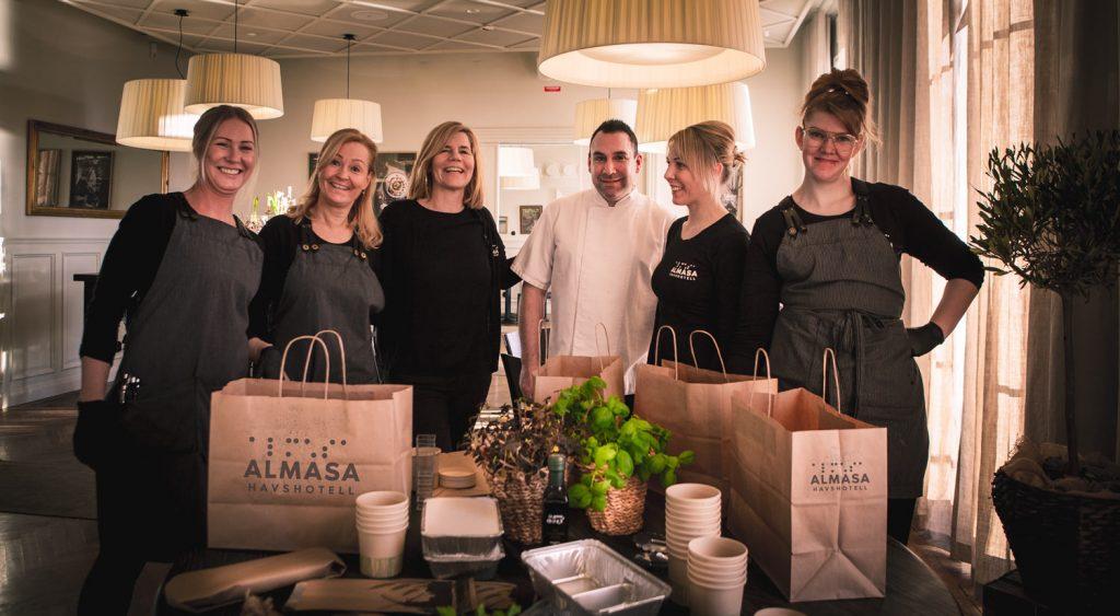 Helgkasse med två middagar från Almåsa Havshotell
