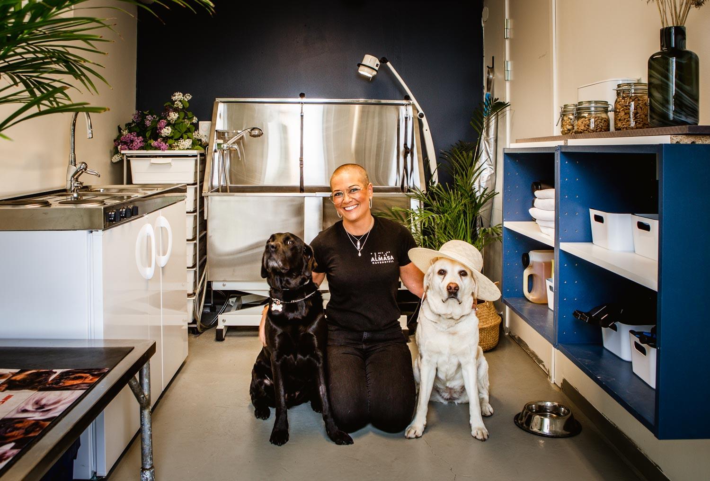 Hundspa på Almåsa Havshotell