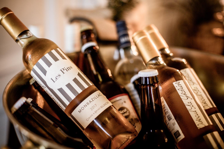 Vin i parti och minut