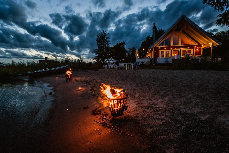 Magiska solnegångars hemvist - Almåsa Havshotell