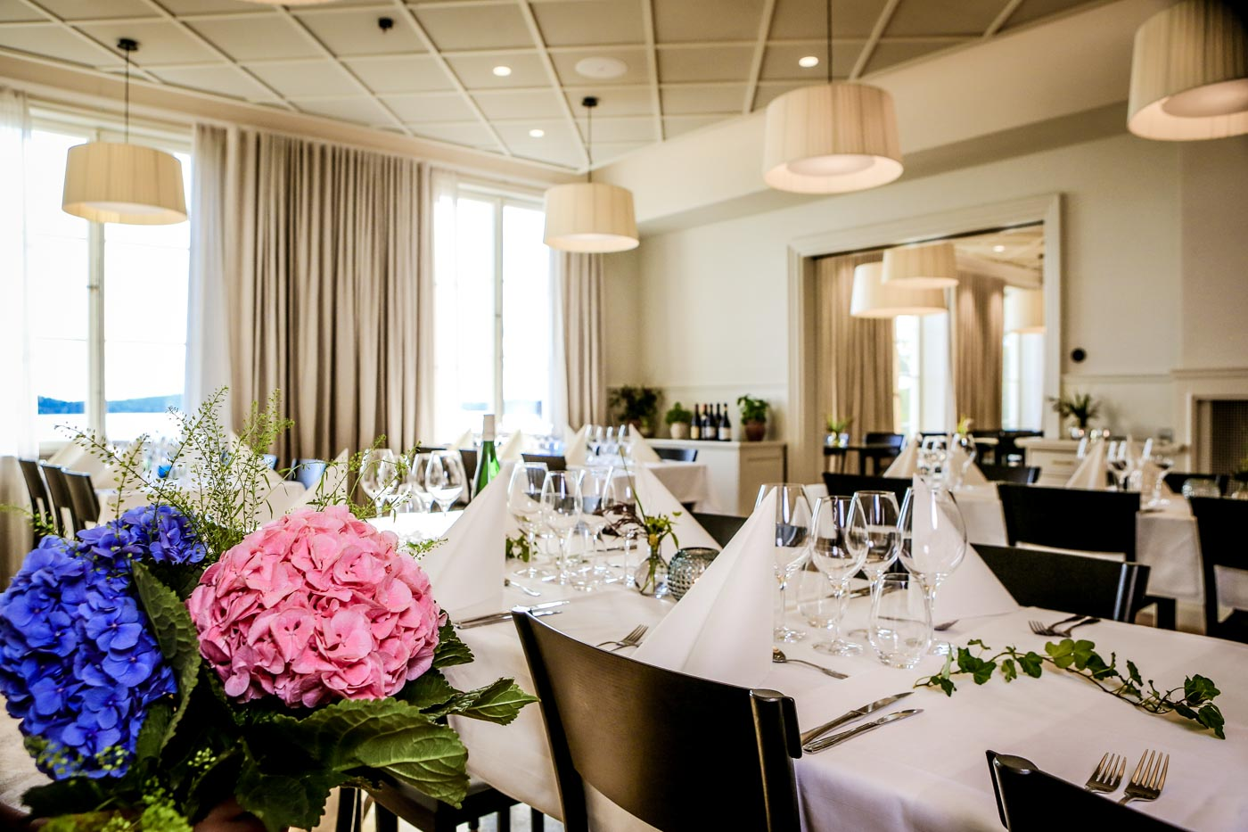 Bröllopsmiddag i Herrgårdens Matsal