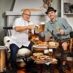 Öl och met med Norbert Lang och Gustav Lindh på Almåsa Havshotell