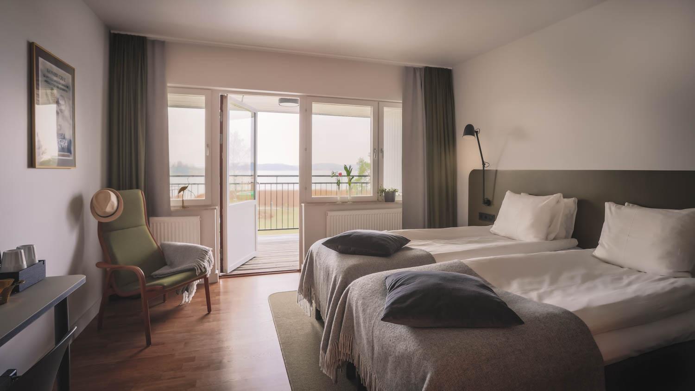 Hotellrum på Almåsa Havshotell