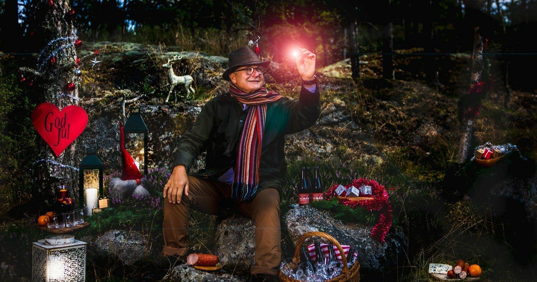 En tryfferad jul vid havet med Norbert Lang