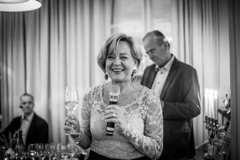 Katarina från West Wines på Almåsa Havshotell