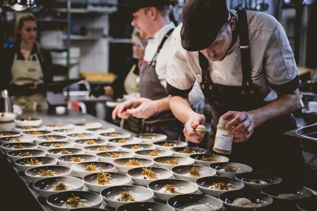 Rotselleriravioli med svamp och tryffel